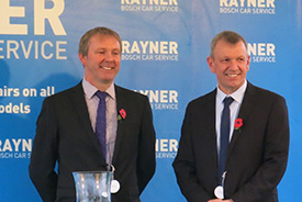 Rayner Bosch Car Service Hits National Headlines