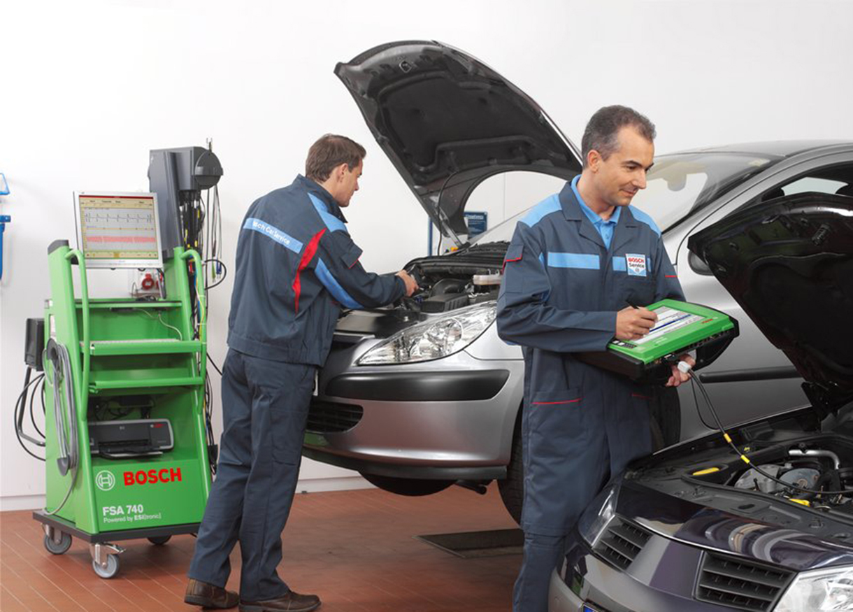 About Rayner Bosch Car Service - Vehicle Diagnostic Equipment